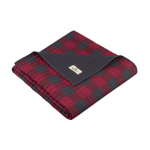 Woolrich Woolrich Check Quilted Cotton Throw WLR1274